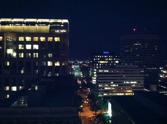 Sheraton Columbia Downtown Hotel: View from rooftop bar