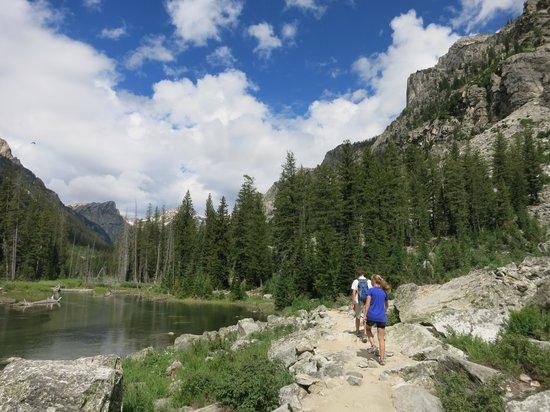 Cascade Canyon : CC trail