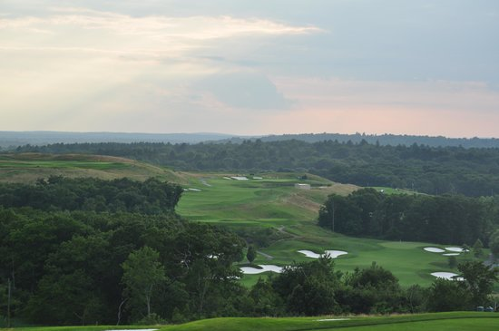 Granite Links Golf Club: view from bar at nine crossings