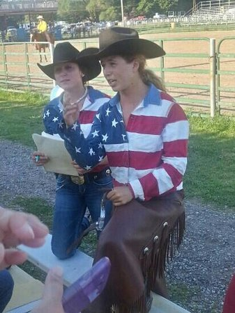 Double JJ Resort: Double J wranglers, at the rodeo.