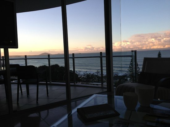 Oceans Mooloolaba : nice sunset views