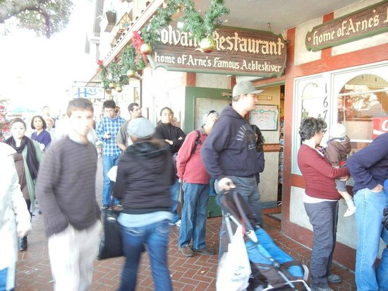 Solvang Restaurant : Aebelskiver was delicious!