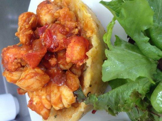 Kasavista: Mofongo with Lobster