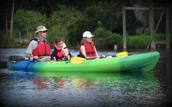 Karen's Kayaks : Kayaking with the kids