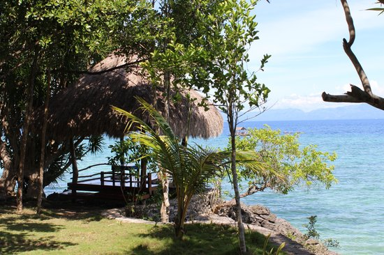 The Blue Orchid Resort: Our favorite cabana!