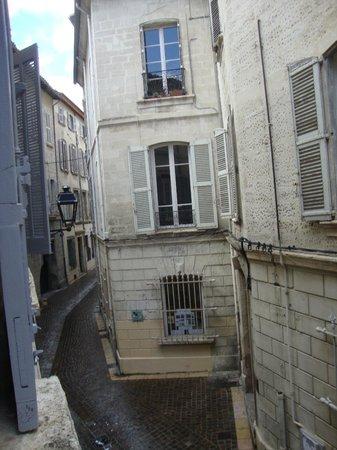 Hotel Garlande : Street view from room