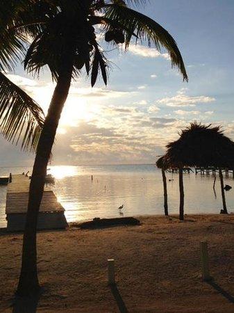 Caye Casa: Sunrise
