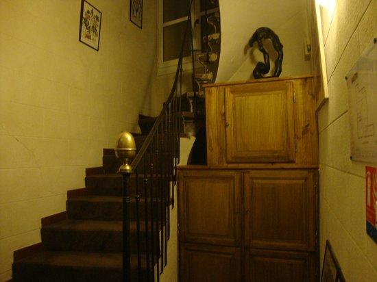 Hotel Garlande : Stairwell