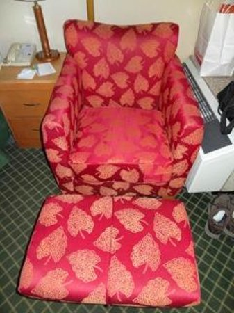 Baymont Inn & Suites Kalamazoo East: Vintage sofa chair