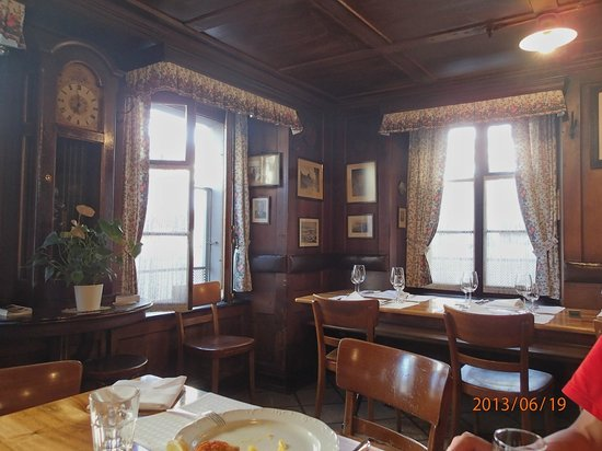 Wirtshaus Galliker: Lovely interiors at Wirthaus Galliker