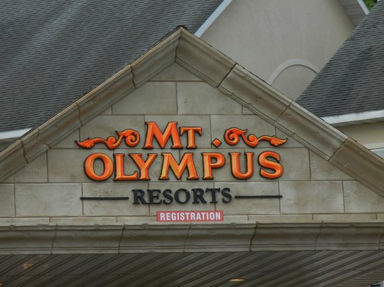 Mt. Olympus Resort: entrance to hotel rome