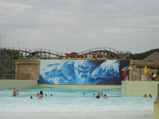 Mt. Olympus Resort: outside waterpark