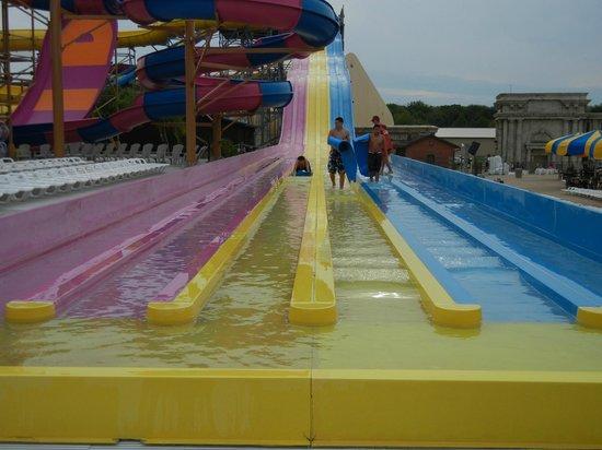Mt. Olympus Resort: outdoor waterpark