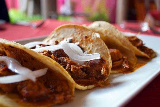 Gran Casa Sayula Hotel Galeria & Spa : Tacos de Tatemado estilo Sayula
