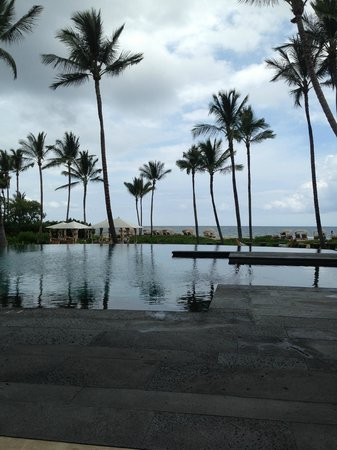 ‪‪Four Seasons Resort Hualalai‬: Palm Grove Pool‬