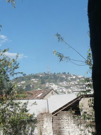 Colonial House Quito : View from the garden