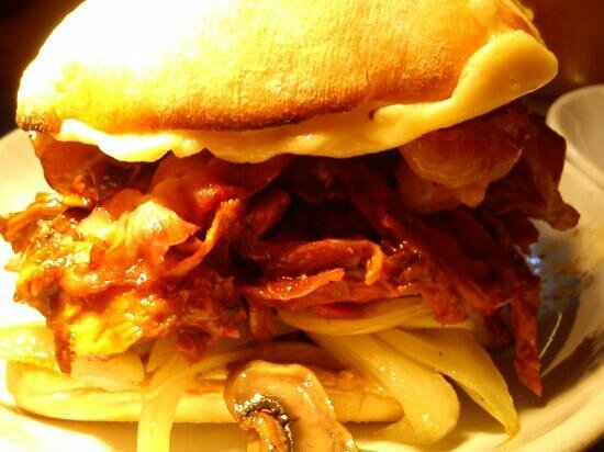Smokeys: Blowout Pulled Pork Sandwich