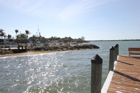 Jolly Roger RV Resort: view from dock