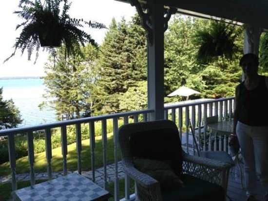 Inn at Bay Ledge: View from porch