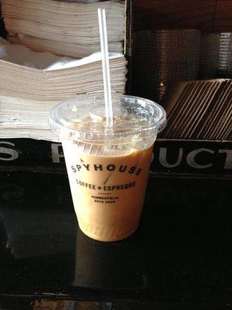 Spyhouse Coffee Shop: iced Carmella