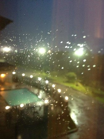 Holiday Inn Express Hotel & Suites Houston Energy Corridor-W Oaks: Into every life a little rain must fall...