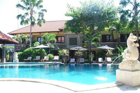 Adhi Jaya Hotel: pool