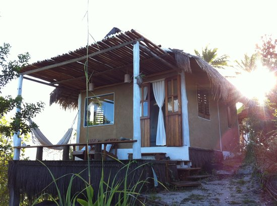 Eco-Pousada Casa Bobo : Refugio realizado con materiales autóctonos