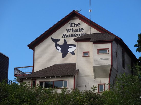 The Whale Museum as seen from Friday Harbor
