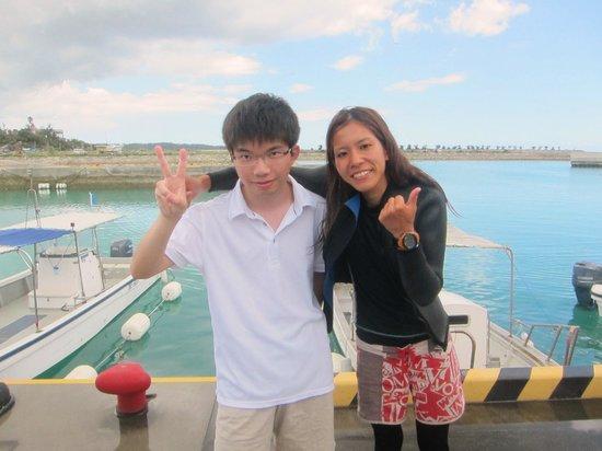Marine Club Gigi : with ikedasan