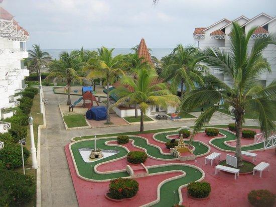 Hotel Las Americas Casa de Playa: Vista desde la habitacion