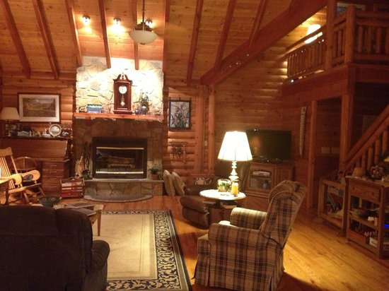 Glade Valley, Caroline du Nord : The beautiful cabin