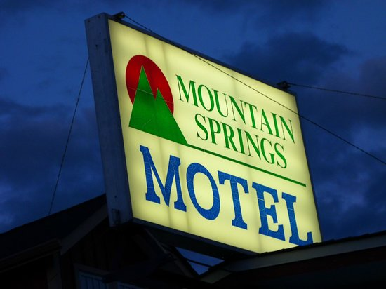 Mountain Springs Motel : Hotel