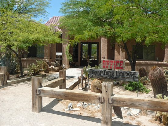 Stagecoach Trails Guest Ranch : The lodge