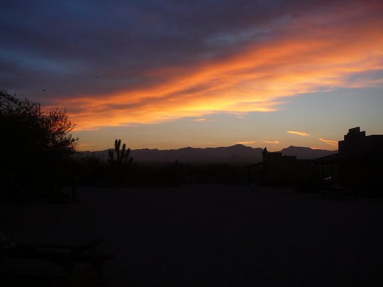 Stagecoach Trails Guest Ranch : Sunrise on our last day