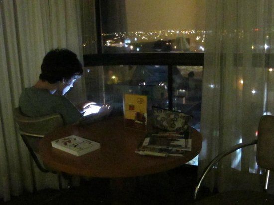 Hotel Real Plaza: Evening quiet time
