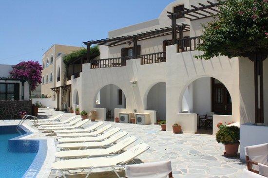 Hotel Mathios Village: Vista desde el Restaurante