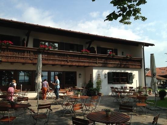 Gockelwirt: outside terrace