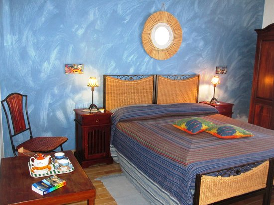 B&B La Giara: Bed & Breakfast  La Giara_Nicolosi_camera Blu