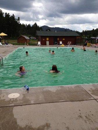 Mount Rushmore / Hill City KOA: main pool