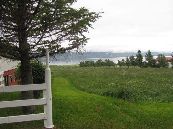 Bjarnargerdi Guesthouse : the view
