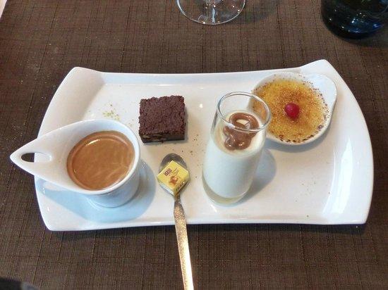 La Cale: Café gourmand