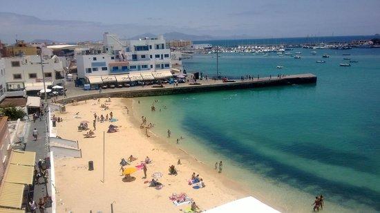 Avanti Hotel Boutique Fuerteventura Small Beach Next To View From Private Terras Of