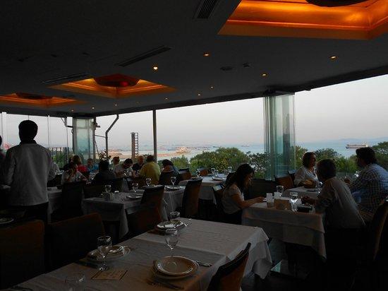 Develi Restaurant overlooking Bosphorus