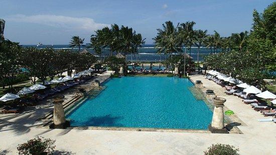 Conrad Bali: Room from Lobby