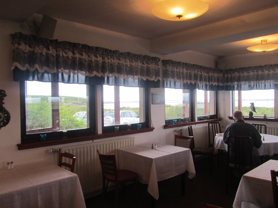 Hotel Hafnarfjall: The dining room