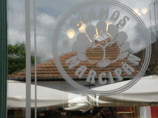 Szamos Museum Confectioner's - Szentendre : ingresso  cukraszda (=pasticceria)