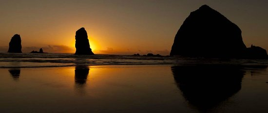 Cannon Beach@ sunset