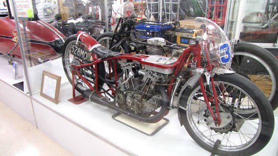 """E Hayes and Sons - The World's Fastest Indian : The actual """"Burt Munro"""" Indian motorcycle"""