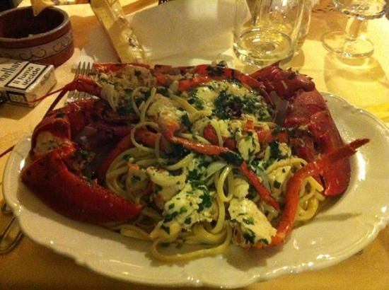 Albergo Italia : linguine all'astice
