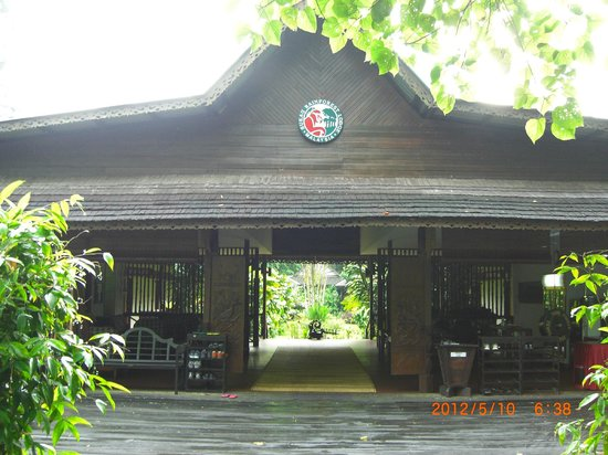 Sukau Rainforest Lodge: ロッジ入口
